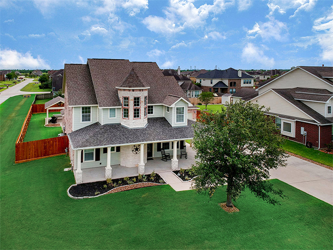 Katy, TX real estate drone photography